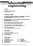 Lubrication Engineering