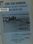 Flood Plain Information  Jordan River Complex  Salt Lake City  Utah