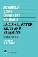 Advanced Dairy Chemistry Volume 3