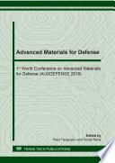 Advanced Materials for Defense Book