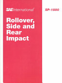 Rollover  Side and Rear Impact