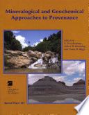 Mineralogical and Geochemical Approaches to Provenance
