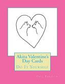 Akita Valentine s Day Cards