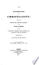 The Evidences of Christianity Book