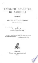 English Colonies in America      The Puritan colonies