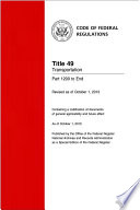 2018 CFR e Book Title 5  Administrative Personnel  Parts 1200 End