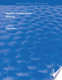 Science Foundations  Physics