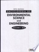 Encyclopedia Of Environmental Science And Engineering A L Book PDF