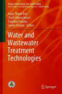Water and Wastewater Treatment Technologies