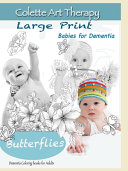Butterflies Dementia Coloring Books For Adults