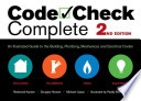 Code Check Complete  : An Illustrated Guide to the Building, Plumbing, Mechanical, and Electrical Codes