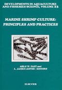 Marine Shrimp Culture Book