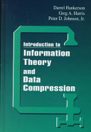 Introduction to Information Theory and Data Compression