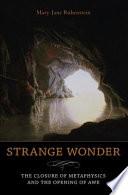 Strange Wonder Book