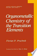 Organometallic Chemistry of the Transition Elements