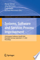 Systems  Software and Services Process Improvement Book