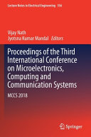 Proceedings of the Third International Conference on Microelectronics, Computing and Communication Systems