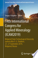 14th International Congress for Applied Mineralogy  ICAM2019  Book
