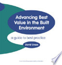Advancing Best Value In The Built Environment