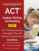 ACT English  Writing  and Reading Prep