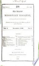 The Baptist Missionary Magazine Of  Nova Scotia and New Brunswick