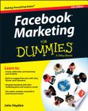 """Facebook Marketing For Dummies"" by John Haydon"