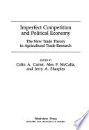 Imperfect competition and political economy