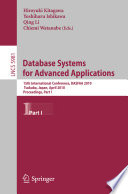 Database Systems For Advanced Applications Book PDF