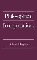 Philosophical Interpretations