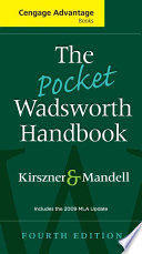 The Pocket Wadsworth Handbook, 2009 MLA Update Edition
