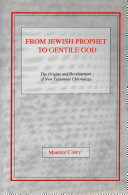Pdf From Jewish Prophet to Gentile God