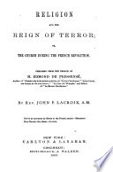 Religion and the Reign of Terror