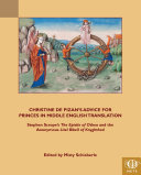 Christine de Pizan's Advice for Princes in Middle English Translation