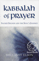 Kabbalah of Prayer