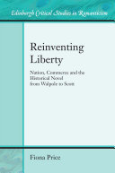 Reinventing Liberty Pdf/ePub eBook