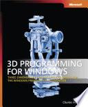 3D Programming for Windows®