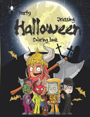 Party Dressing Halloween Coloring Book