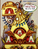 Christmas Nice Little Town Adult Coloring Book