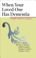 When Your Loved One Has Dementia Pdf/ePub eBook