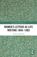 Pdf Women's Letters as Life Writing 1840–1885
