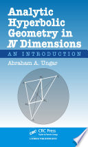 Analytic Hyperbolic Geometry in N Dimensions