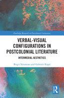 Pdf Verbal-Visual Configurations in Postcolonial Literature