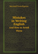 Mistakes in Writing English