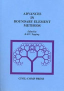 Advances In Boundary Element Methods Book PDF