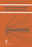 Science and Technology of Mesoscopic Structures Pdf/ePub eBook