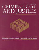 Criminology and Justice Book
