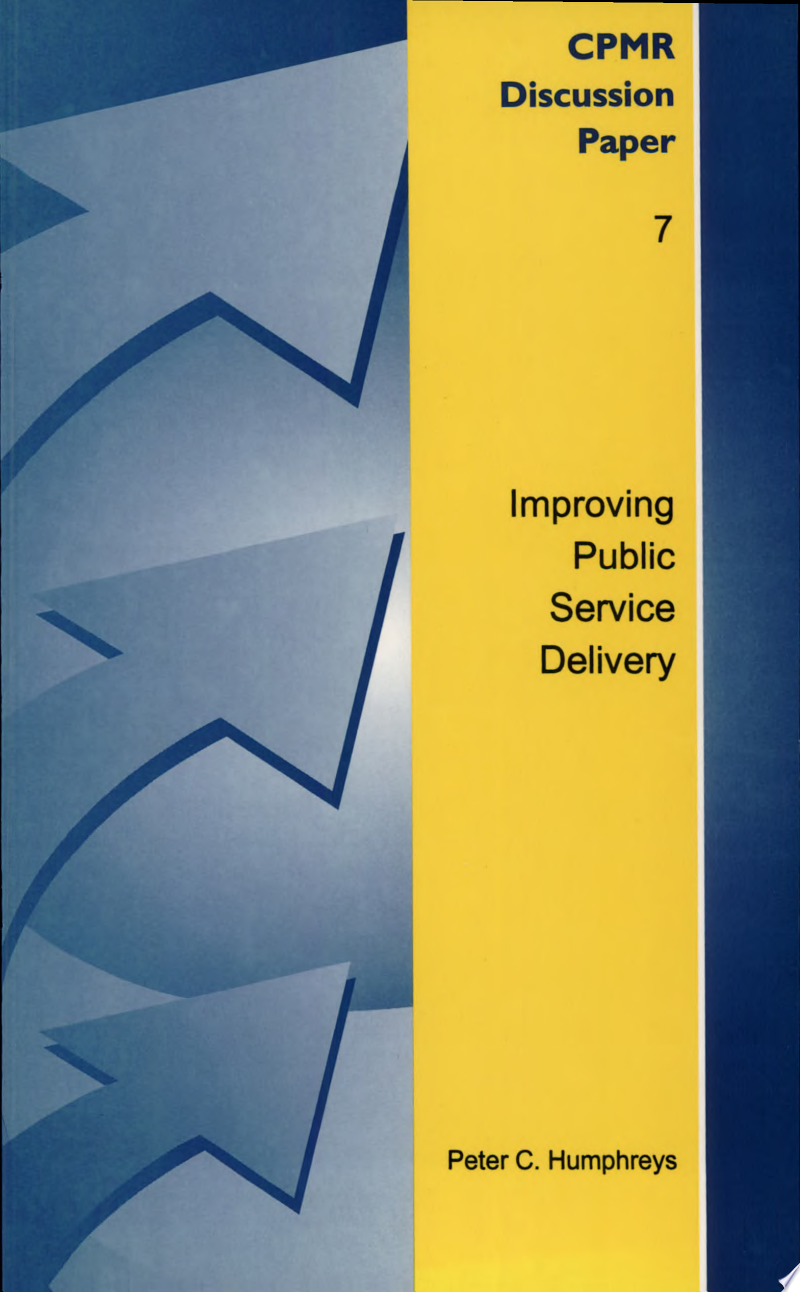 Improving Public Service Delivery banner backdrop
