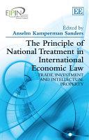 The Principle of National Treatment in International Economic Law [Pdf/ePub] eBook