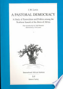 A Pastoral Democracy