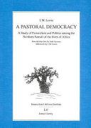 A Pastoral Democracy Pdf/ePub eBook